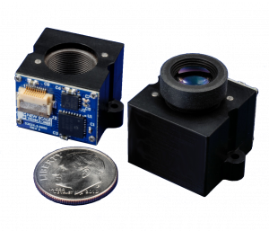 M3-F Piezoelectric autofocus system used in biometric identification camera