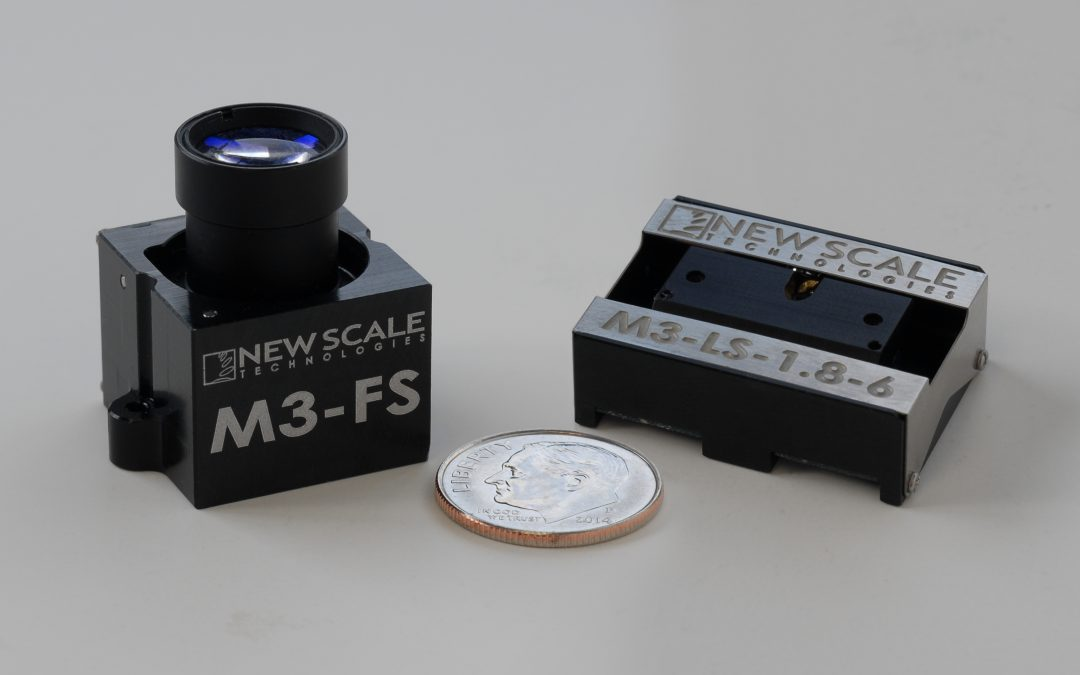 New Scale upgrades lifetime spec for miniature all-in-one focus module and micro stage, targeting commercial and industrial OEM applications