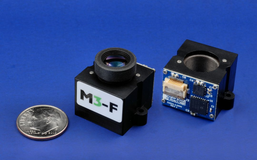 Compact M3-F focus module now with >2M cycle lifetime, new repeatability specs