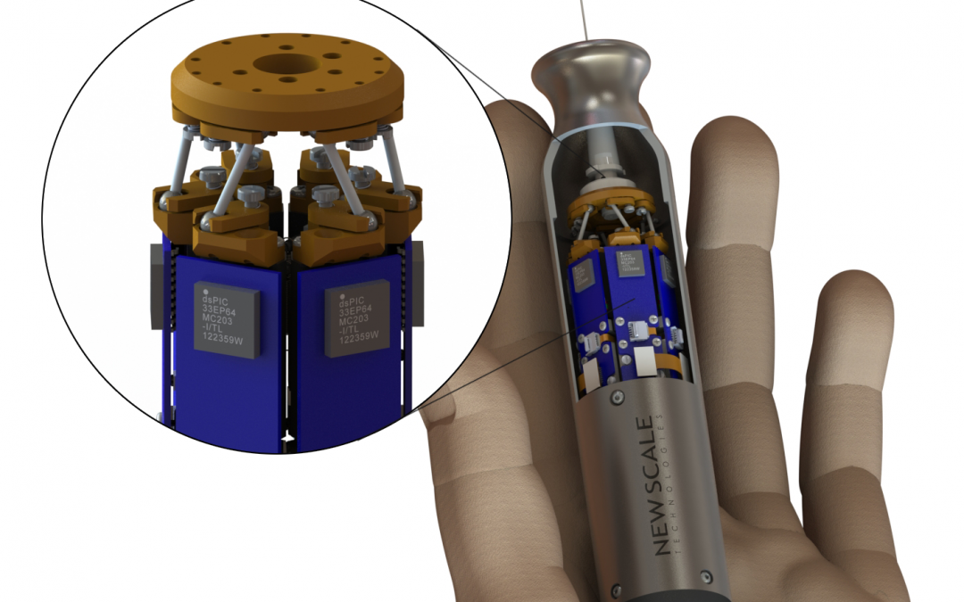New Scale to develop world's smallest commercial hexapod under Phase 1 SBIR grant