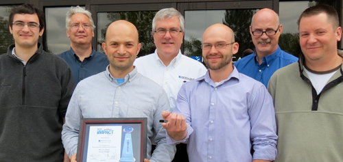 ECN Impact Award for mechatronic module