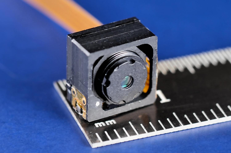 M3-FS focus module with commercial M12 lens