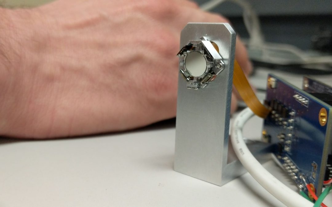 miniature 2-axis mirror steering piezo moto