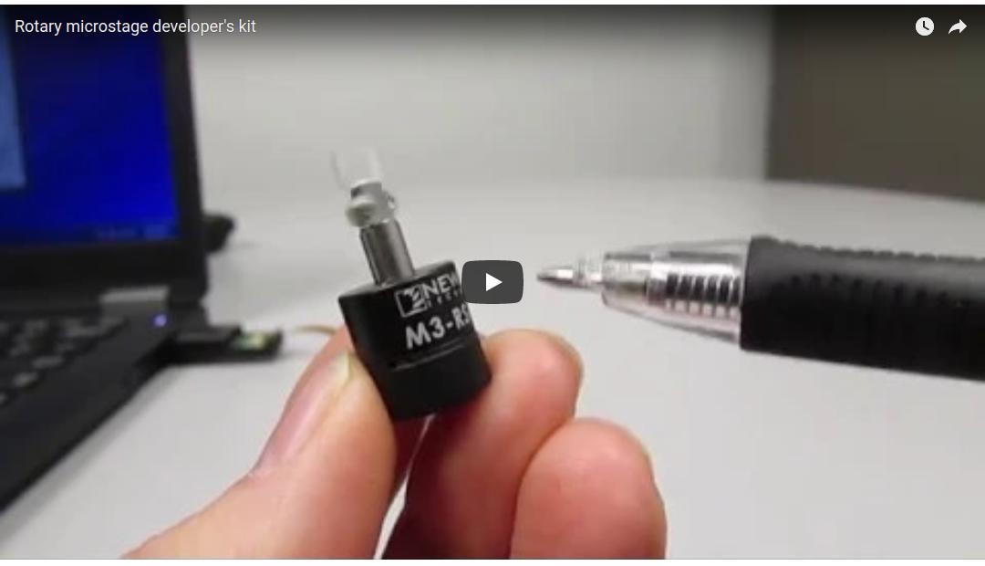 VIDEO: M3-RS-U-360 Rotary Microstage Developer's Kit