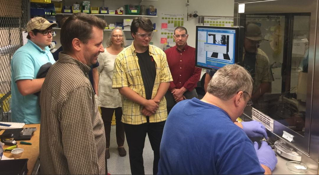 Facility Tour Supports Instrumentation and Controls Education Program