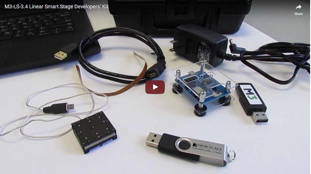 Micropositioning stage developers' kit