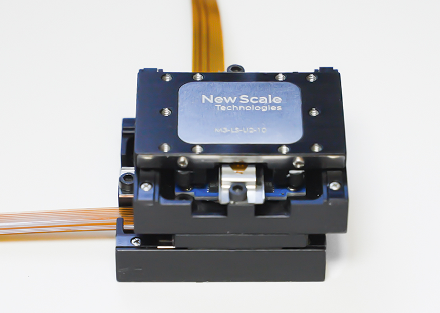 Linear microstage M3-LS with embedded controller